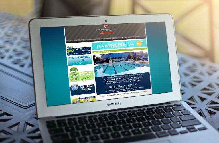 Bannière web | Fête de la piscine