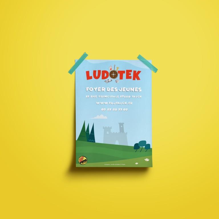 Affiche A3 | Ludotek