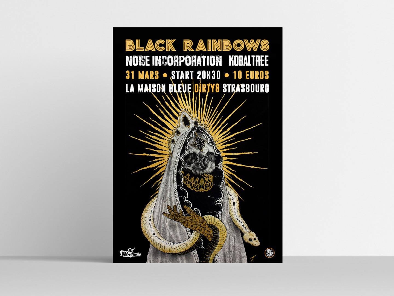 Affiche de concert   No Vulture